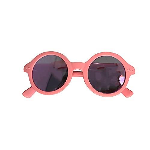 Gafas De Sol Polarizadas para Niño O Niña ,Anti-UV Protección (Color : Pink)
