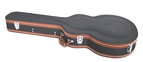 New Line–HardCase Slim Jazz Typ Elektro-Semi-Hartschale für Akustikgitarre 335etc. vollständig gepolstert und gefüttert–Sonderangebot