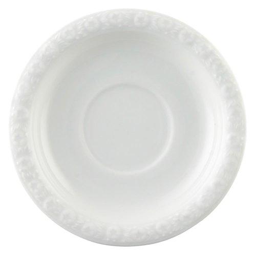 Rosenthal 10430-800001-14721 Soucoupe 2 Haute, Porcelaine, Blanc, 14,4 x 13,5 x 7,3 cm