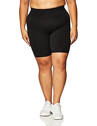 NIKE W NSW Legasee Bike Short Sport Shorts, Mujer, Black/Black/(White), L