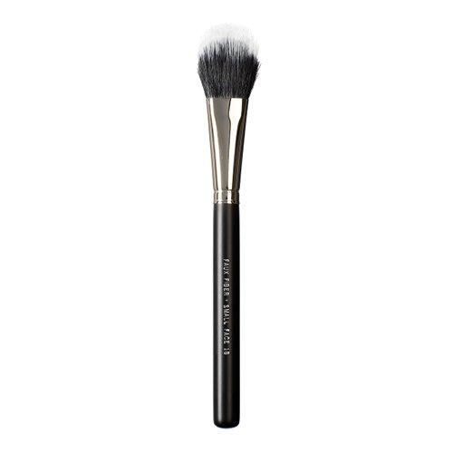 Vegan Love - Pennello viso con setole sintetiche di piccole dimensioni, colore: nero