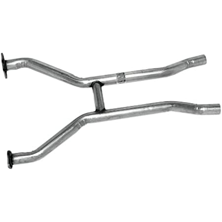JBA 6610SH 2.5 Stainless Steel Exhaust Mid H-Pipe for Mustang 289//302 65-70