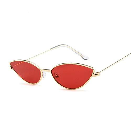 Nobrand Cute Sexy Cat Eye Sunglasses Women Retro Small Red Cateye Sun Glasses Female Vintage Shades For Women