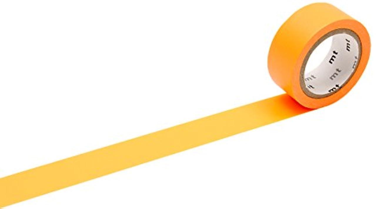 mt Fab Washi Paper Masking Tape: 3/5 in. x 16 ft. (Fluorescent Orange)