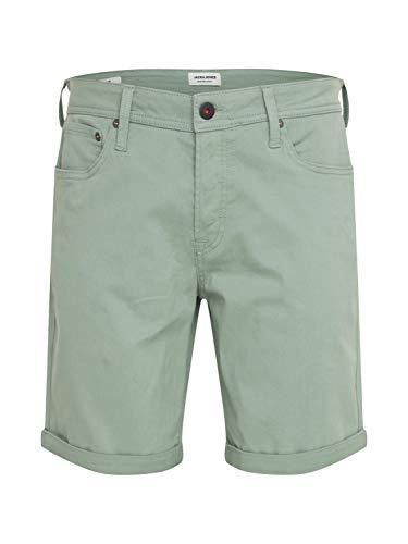 Bermuda JACK&JONES Hombre XL Verde Claro 12165892 JJIRICK Original Short AKM