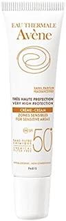 Avene Cream For Sensitive Areas SPF 50 by Avene for Unisex - 0.5 oz Cream, 15 milliliters