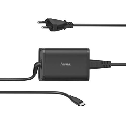 Hama Universal-USB-C-Notebook-Netzteil, Power Delivery (PD), 5-20V/65W