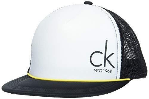 Calvin Klein Unisex Cap-City Trucker Verschluss, Pvh Schwarz, One Size