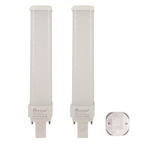 FExYinz MEHRWEG G23-2 LED-Lampe Ra 90 2 Jahre Garantie 11 Watt Warmweiß 3000K 1100 Lumen PL Lampe CFL Kompakte LED-Lampe G23-2 LED Leuchtstoffröhre