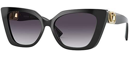 Valentino sonnenbrille VA4073 50018G BLACK Schwarz grigio größe 56 mm Damen