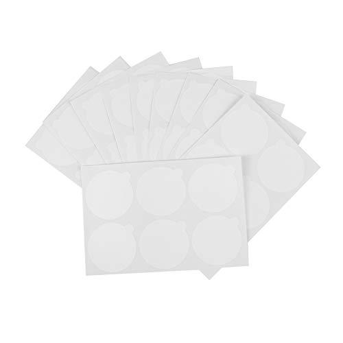 Lot de 180 patchs en gel jetables pour faux cils - Étanches - Pour palette - En papier - Sur pierre de jade