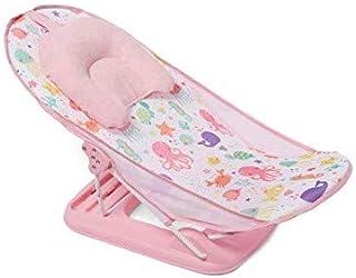Blue Healifty Sponge Baby Bath Mat Non-slip Baby Bath Sponge CushionAnti-skid Bathtub Infant Bath Pad Newborn Seat for Baby Care