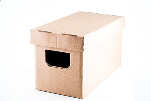 Geluidsplaten transport en opslag LP kartonnen doos