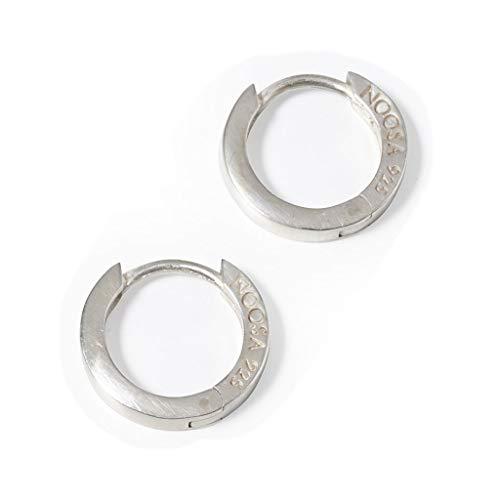 NOOSA RELIC Ohrringe CREOLE CLASSIC silver - ohne Relic