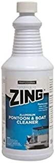 Zing 188 WHITE Professional Aluminum Pontoon & Boat Cleaner (1 quart), 32. Fluid_Ounces