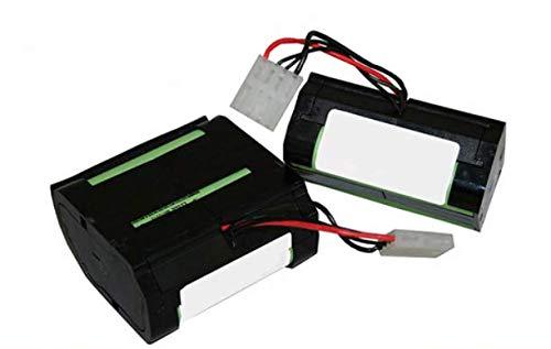 Zellentausch/Reparatur 2x Li-ion Akku PN46439 für Vorwerk VR100 > Leistungssteigerung um 30% auf 5,8Ah