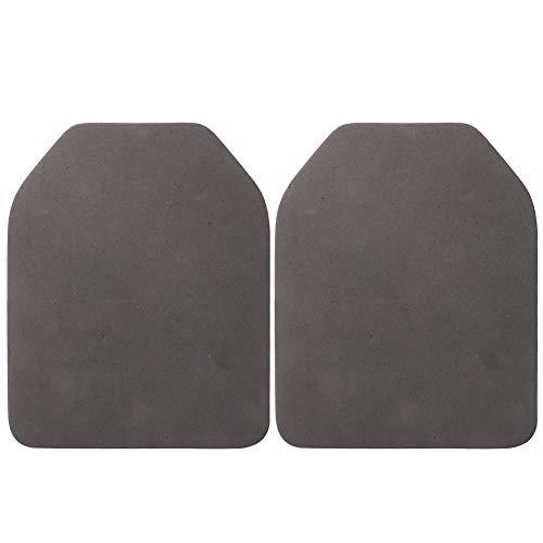Alomejor Dummy Plate 2pcs Airsoft Chaleco Espuma Placa Airsoft Chaleco Placa Interior Espuma EVA Protector EVA Body Chaleco Placas para Airsoft Paintball Pad de Entrenamiento Pad