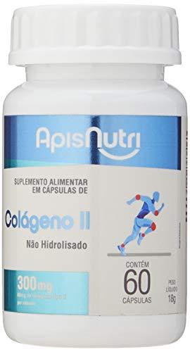 Colágeno Tipo II 300mg (60 caps), Apisnutri