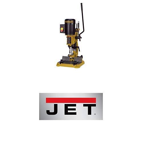 "Powermatic 1791310 PM701 Benchtop Deluxe Mortiser with Powermatic 1791312 2"" Riser Block for PM701 Mortiser"