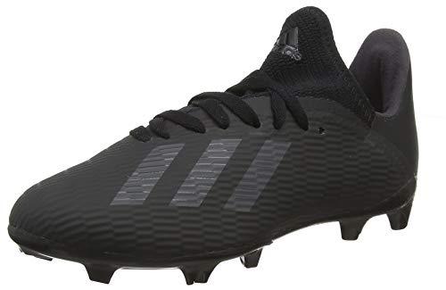 adidas Baby Jungen X 19.3 Fg J Fußballschuhe, Schwarz (Core Black/Utility Black/Silver Met. Core Black/Utility Black/Silver Met.), 33 EU