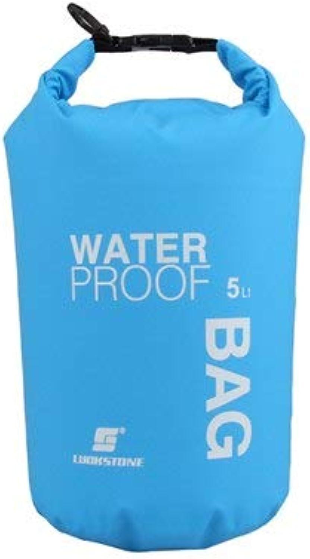 CUSHY 2L 5L PVC Waterproof wimming Bag Dry Bag Kayak Rafting Camping Ruckack  A 5L