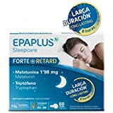 Epaplus Melatonina Forte + Retard 1,98 mg y Triptofano 60 comp