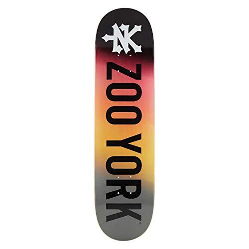"ZooYork Logo Skateboard Deck (8.25\"" - Fire)"