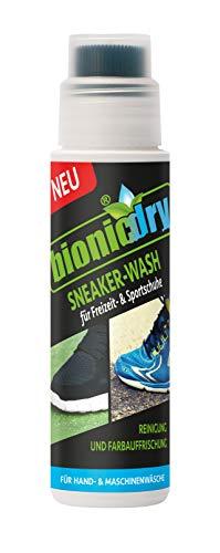 Bionicdry Sneaker Wash, Waschmittel,Reinigungsmittel für Textil Turnschuhe und Sport-Schuhe, 170 ml