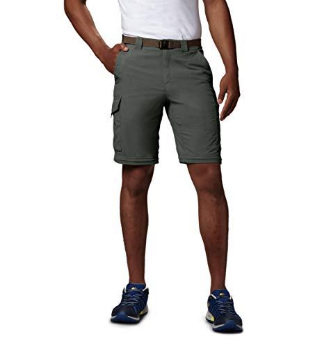 Columbia Silver Ridge Convertible Pantalon convertible pour homme, Silver Ridge Convertible, Gris...