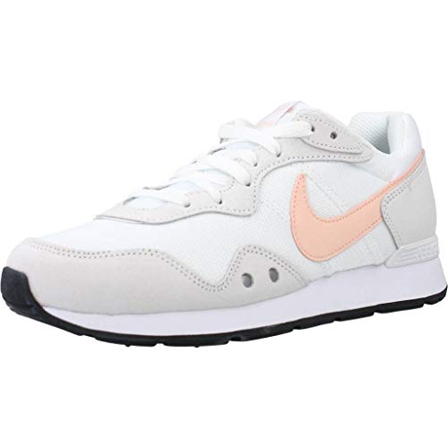 NIKE Venture Runner, Sneaker Womens, White Washed Coral Black, 38 EU