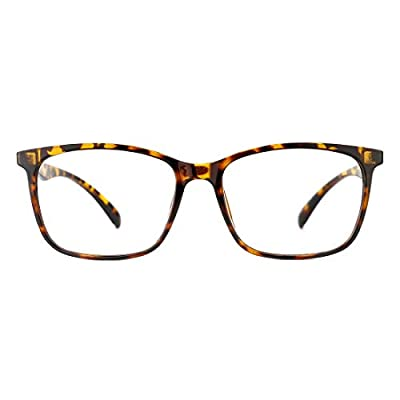 TIJN Blue Light Blocking Glasses TR90 Lightweig...