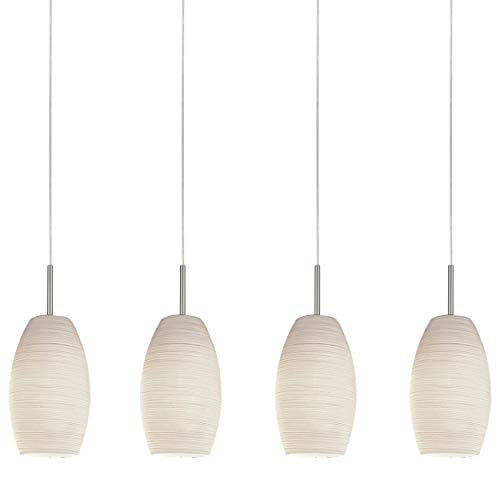 lampada a sospensione bianca Lampada a sospensione EGLO BATISTA 3
