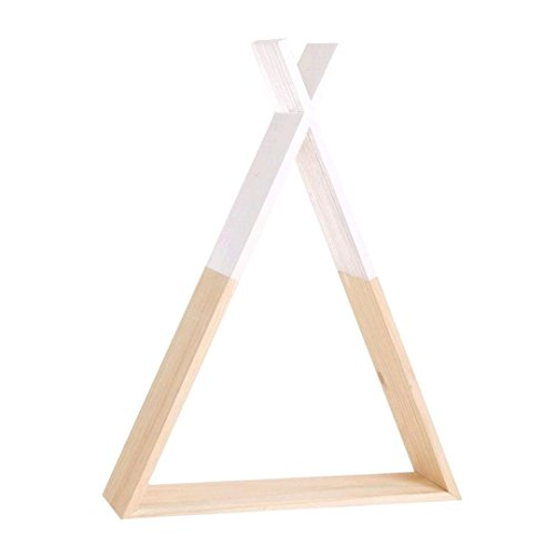 D,casa - Estanteria tipi madera infantil
