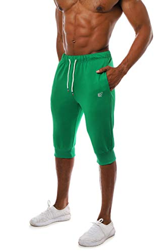 RUNNING EXERCISE YOGA MEN/'S PROTECTION CASUAL GYM SQUATTING BODYBUILDING SHORT