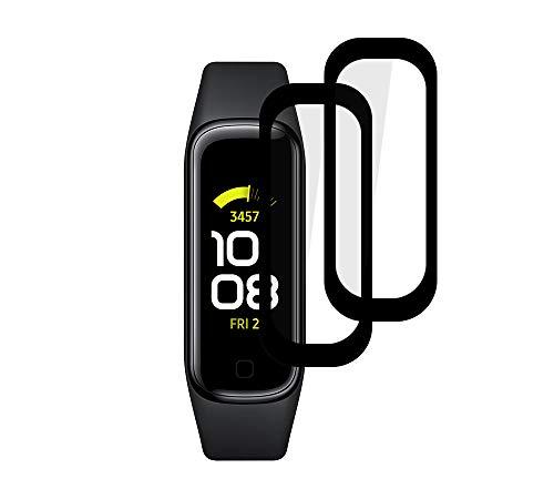 PaceBid 2 Pack Pellicola Protettiva Compatibile con Samsung Galaxy Fit 2, Completamente Protettivo Ultra Sottile HD Trasparente Film Morbido per Samsung Galaxy Fit 2
