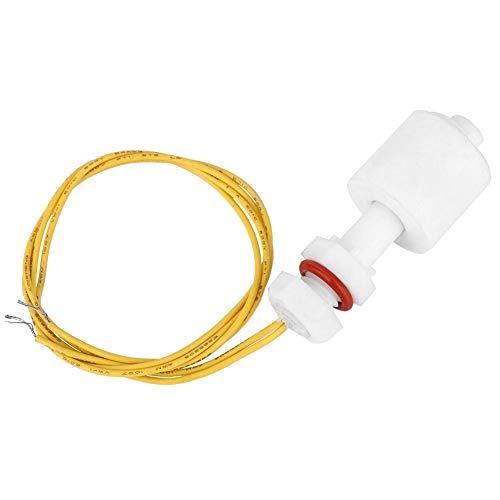 Interruptor de sensor de nivel de líquido 5pcs, interruptor de flotador de plástico PP tanque de agua piscina controlador de sensor de nivel de líquido P4510