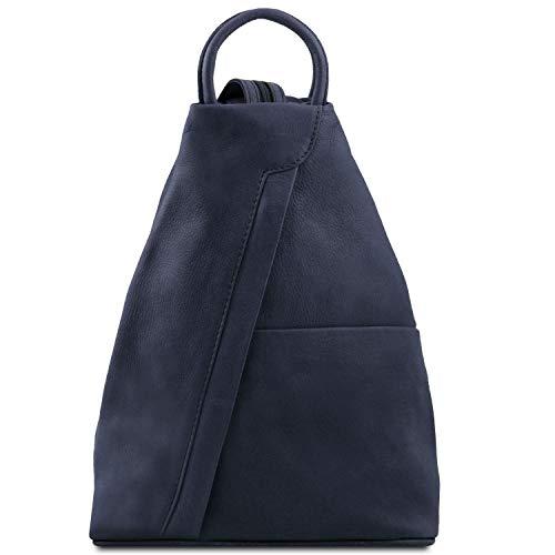 Tuscany Leather - Shanghai - Zaino in pelle morbida Nero - TL140963/2