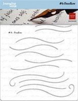 Chatterbox Chatter Box Journaling Genie #6 Freeflow Stencils