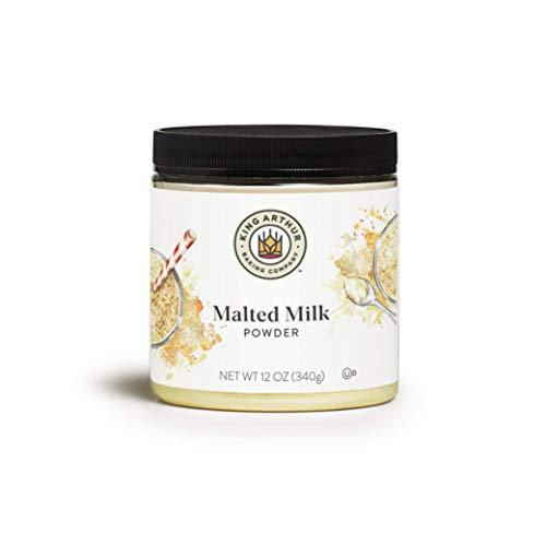 King Arthur Flour, Malted Milk Powder 12 Ounces (Packaging May Vary)