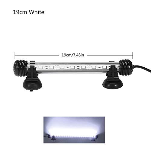 gousheng Illuminazione per Acquario LED Illuminazione per Acquario Impermeabile per Pesci Illuminazione per Acquario per Pesci Subacqueo Illuminazione Decorativa per Piante Illuminazione per Acquario