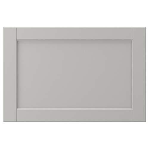 LERHYTTAN dörr 60 x 40 cm ljusgrå