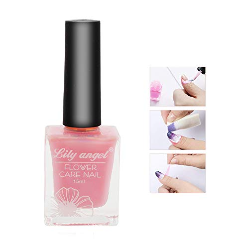 Aiooy Nail Art Latex Liquid Tape Peel off Liquid Tape Nail Care Tape Peel aus Decklack Nail Art Flüssigkeit Palisade (15ML-2)