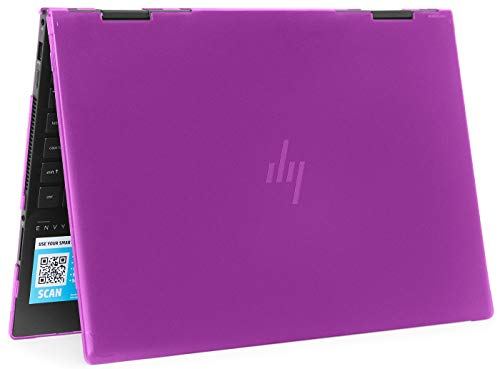 mCover Hard Shell Case for 2020 15.6' HP Envy x360 15-EExxxx (AMD CPU) / 15-ED (Intel CPU) Series Laptop (NOT Compatible with Envy x360 15-AQ/BP/DS/DR Series & Other Models) – x360-15-EE-ED (Purple)