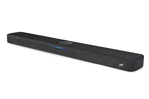 Polk Audio React Heimkino Soundbar mit Alexa Built-in, Amazon Multiroom Music, DTS, Dolby Digital, WLAN, Bluetooth, HDMI ARC, optischer Eingang
