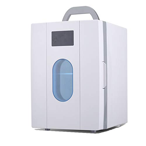 YICHEN Mini Refrigerador Mini Nevera Nevera Portátil para Alimentos, Bebidas, Cuidado De La Piel, Uso En El Hogar, Oficina, Dormitorio, Automóvil