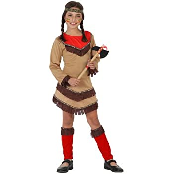 Atosa-23801 Disfraz India, color marrón, 3 a 4 años (23801 ...