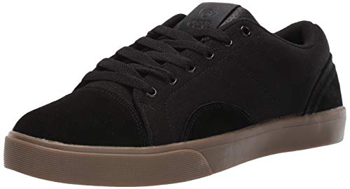 Osiris Men's Turin Skate Shoe, Black/Dk. Gum, 6 M US