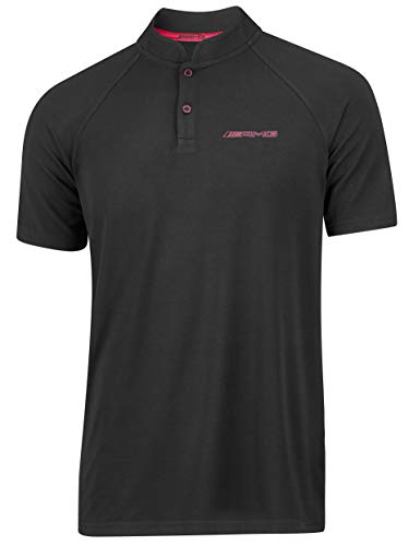 Mercedes-Benz Collection 2020 AMG Poloshirt Herren, schwarz/rot