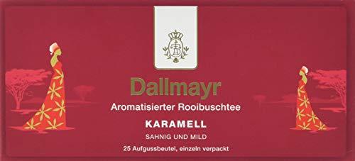 Dallmayr Tee Aufgussbeutel - Rooibuschtee Karamell (1 x 43,75 g)