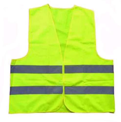 wuerfel24 - wuerfels Protest Warnweste Gelbweste Weste gelb/Neongelb für Demonstration, Auto und Motorrad - Größe XL - für Herren, Damen, Männer, Frauen, Kinder, Jugendliche = Unisex, EN 471
